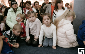 Новогодний карнавал! Часть 3 в торгово-развлекательном комплексе Территория Севера в Оренбурге