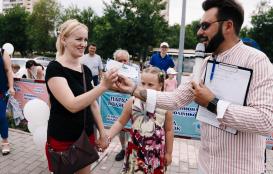 Парад колясок 2018(часть 1) торгово развлекательный комплекс Территория Севера Оренбург