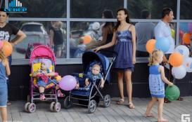 Парад колясок 2019 торгово развлекательный комплекс Территория Севера Оренбург
