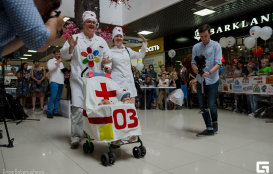 Парад колясок 2017(часть 1) торгово развлекательный комплекс Территория Севера Оренбург